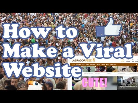 How to make a VIRAL WEBSITE BLOG with WordPress & AdSense
