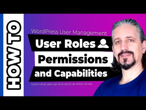 WordPress User Roles and Permission Management Explained