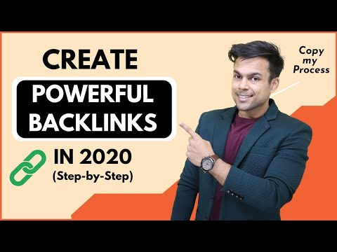 How to CREATE BACKLINKS in 2020 (Step-by-Step Blueprint)