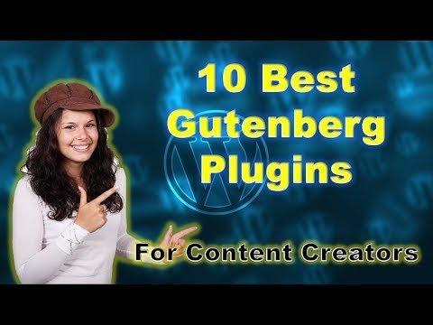 10 Best Gutenberg Plugins for Content Creators | WordPress Content Blocks