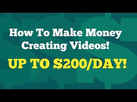 How To Make Money Creating Videos | Simple Product Review Videos