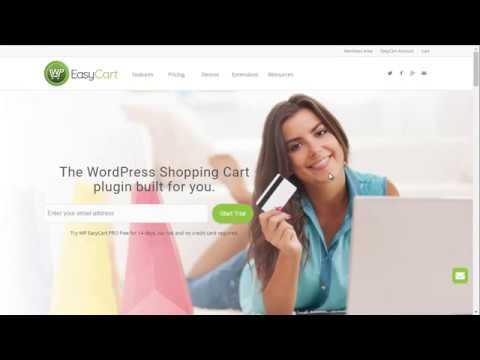 WP EasyCart – 4 Minute Demo of the WordPress Shopping Cart plugin!