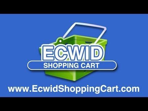 "WordPress Shopping Cart ""Ecwid"" – Setting Up Ecwid"