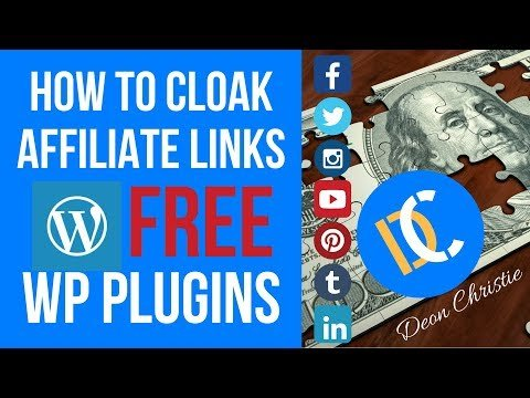 Affiliate Marketing Link Cloaking with Free Plugins