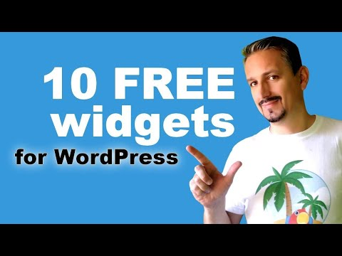 WordPress Widgets: How To Add New Widgets With FREE Plugins