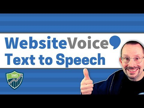 WebsiteVoice – Text to Speech Plugin for WordPress